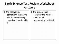 ppt earth science test review worksheet answers 30 points powerpoint presentation id 2055237