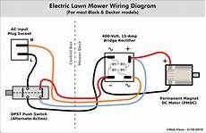 nick viera electric lawn mower wiring information
