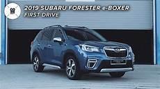 2019 subaru hybrid forester performance 2019 subaru forester e boxer hybrid impressions