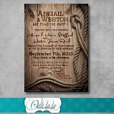 rustic wedding invitation diy printable by oohlalaposhdesigns