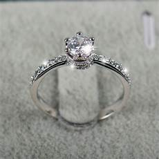 2018 new design fashion jewelry luxury engagement ring 925 sterling silver 5a zircon