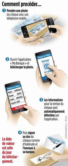 encaissez vos ch 232 ques par t 233 l 233 phone le parisien