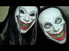 Make A Cheap Mask Into A Scary Clown Mask