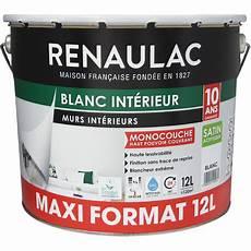 Peinture Int 233 Rieur Blanc Satin Murs Plafonds Monocouche