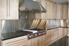 stainless steel solution for your kitchen backsplash