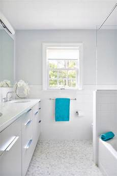 white and gray bathroom with turquoise accents contemporary bathroom clean design partners