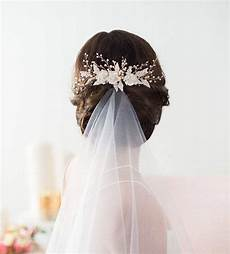 wedding hair comb gold bridal hairpiece beaded bridal headpiece flower hair comb wedding
