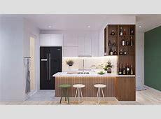 Lindo apartamento com uma paleta de cores que explora o
