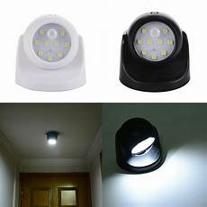 9led wireless light operated motion sensor battery power sconce wall light l ebay