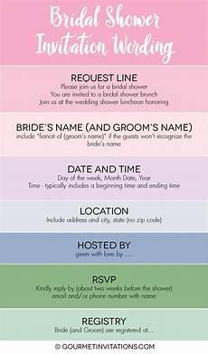 wording your bridal shower invitations bridal shower invitation wording gourmet invitations