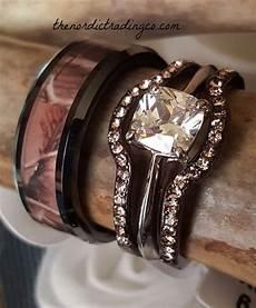 latest trending camo wedding engagement ring sets