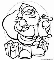 santa coloring pages for at getcolorings free