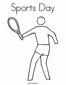 sports day coloring pages 17757 sports day coloring page twisty noodle