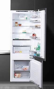kühlschrank mit gefrierfach siemens siemens einbauk 252 hlgefrierkombination ki87sad40 177 2 cm