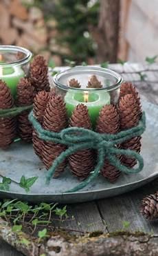 Weihnachtliche Deko Ideen Mit Zapfen Bastelideen
