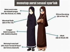 Cara Berpakaian Jilbab Muslimah Yang Benar