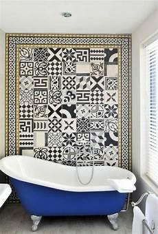 decor mural salle de bain le carrelage mural en 50 variantes pour vos murs