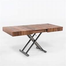 table relevable extensible pour petit espace en bois