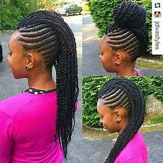 Mohawk Hairstyles With Twists 50 catchy and practical flat twist hairstyles hair
