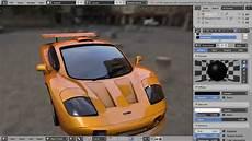 car paint shader in blender game engine blender 3d tutorial youtube