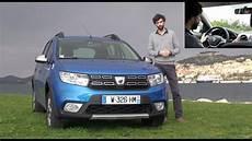 2017 Dacia Sandero Stepway Restyl 233 E Essai
