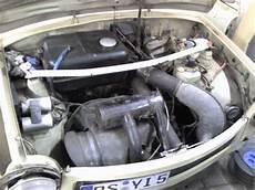 trabant 601 špinav 253 motor east german car german cars