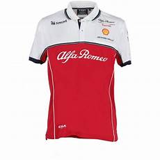 alfa romeo racing f1 race technical polo shirt