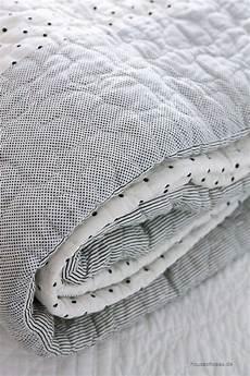 decke schwarz weiß clayre eef gro 223 e quilt decke gesteppte tagesdecke 260 x