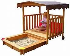 gaspo 310375 spielhaus mit sandkasten roof play houses