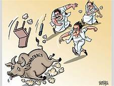 Tamil Nadu Politicians Chase Away The Bull Of 'democracy
