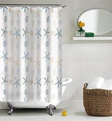 seashell shower curtain best nautical sea shower curtains the mermaids home