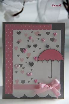 diy baby shower card pretty in pink cute in blue