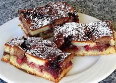 Schwarze Johannisbeere Rezepte - saftiger klecks kuchen mit johannisbeeren wilde biene