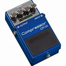 Cp 1x Compressor Pedal For Electric Guitar Cp 1x B H