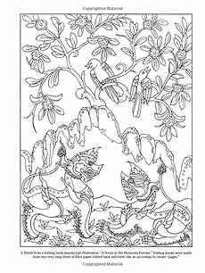 Quallen Malvorlagen Thailand Thai Decorative Designs Dover Coloring Books Marty Noble