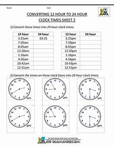 24 hour clock conversion 12 to 24 hour clock 2 time 24