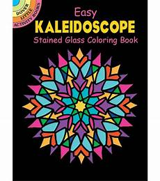kaleidoscope stained glass coloring book for adults joann