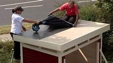 dachpappe und dachpappe selbstklebend schwimmbadtechnik
