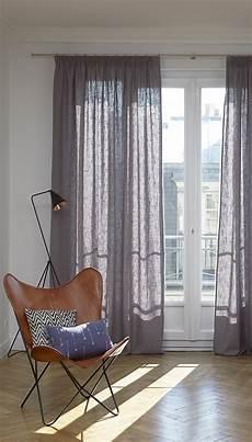 vorhang wohnzimmer gardine bellevue mit kr 228 uselband 1 st 252 ck