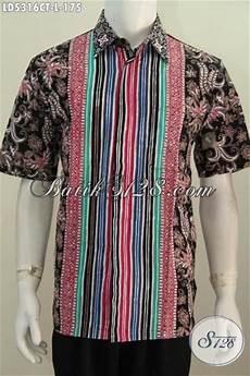 kemeja batik lelaki baju batik keren modis kwalitas istimewa untuk kerja dan jalan jalan