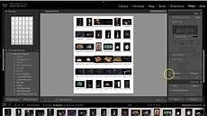 how to create a contact sheet in adobe lr cc 2015 youtube