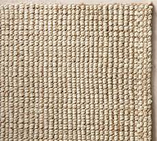 Chunky Wool Jute Rug Traditional Rugs By