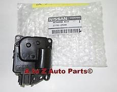 automotive air conditioning repair 2004 nissan pathfinder armada instrument cluster new 2004 2015 nissan titan armada quest ac heater defrost actuator motor oem ebay