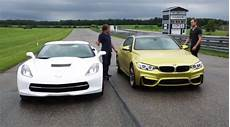 track test bmw m4 vs corvette stingray