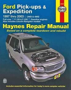 book repair manual 1997 ford expedition navigation system ford pick ups expedition and lincoln navigator petrol 1997 2003 1620923025 9781620923023