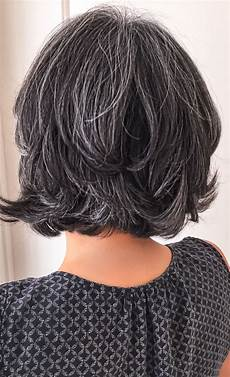 short salt and pepper gray hair silver hair white hair granny hair no dye dye free aging