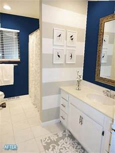 Bathroom Ideas Navy And White by Gorgeous Navy Blue With Gold White The