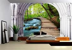 poster papier peint tapisserie paysage papier peint 3d personnalis 233 dans la
