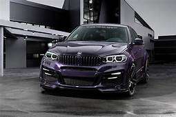 BMW X6 With Lumma Body Kit Tries Porsche Amethyst