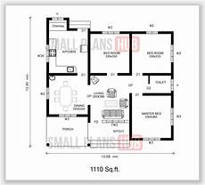 three bedroom house plan in kerala kerala style 1110 sq ft three bedroom house plan and